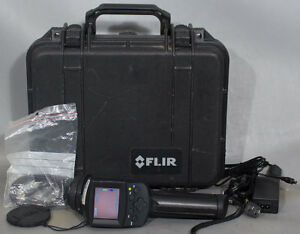 Flir Systems Thermacam E4 Scout Infared Ir Thermal Imaging Camera W lens