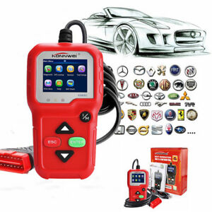 Automotive Obd2 Eobd Code Reader Can Scanner Car Diagnostic Engine Light Check