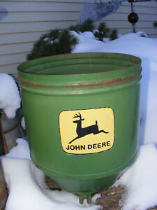 694 John Deere Corn Planter Large Seed Hopper Complete Box garden Decor