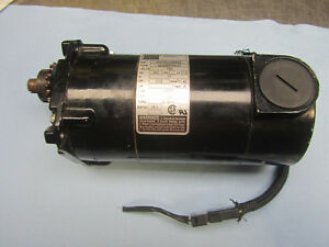 Bodine Gear Motor 32a3bepm z2 130v 1 12hp 18 1 Ratio 139 Rpm