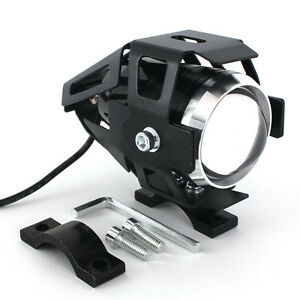 125w Cree Led Motorcycle Headlight E Bike U5 Spot Light Driving Fog Lamp Light