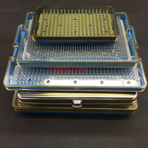Sterilization Tray Disinfection Case Autoclavable Box Opthalmic Instrument