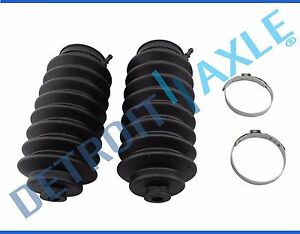 Pair Rack Pinion Tie Rod Boots And Bellows For 1996 1999 2000 Honda Civic