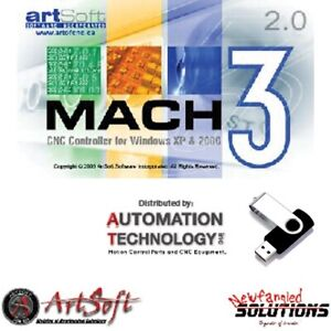Artsoft Fully Licensed Mach3 Cnc Control Software email You Authorized Dealer