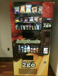 6 Vending Machine Seaga Combo Soda Snack Candy Pop Office Deli Food Truck Gene