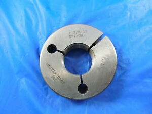 1 3 8 12 Unf 3a Thread Ring Gage 1 375 No Go Only P d 1 3162 Free Shipping