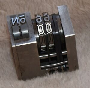 Model 13 Size Numbering Machine
