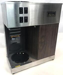 Brown Bunn Vpr W g 120v Pour omatic Pouromatic Commercial 2 Warmer Coffee Maker