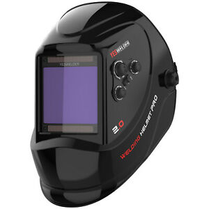 Large View Area True Color Pro Solar Welder Mask Auto darkening Welding Helmet