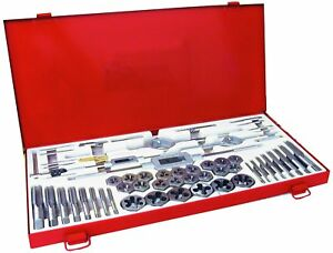 Century Drill Tool 98957 Metric Tap And Die Set 58 piece