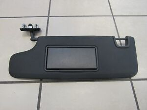 Jeep Wrangler Driver Side Black Sun Visor New Oem Mopar
