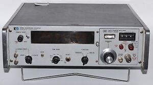 Hp 5246l 50mhz Frequency Counter used Hewlett Packard