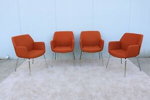 Coalesse And Steelcase Brian Kane Modern Bindu Side Or Guest Chairs Set Of 4
