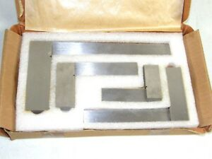 Set Of 4 Machinists Squares Tools 2 3 4 6 06508014