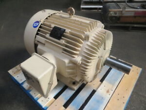 Marathon Electric 125 Hp 575 Volts Ac Electric Motor 1780 Rpm 444t Frame Used