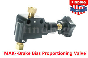 New For Brake Adjustment Brake Bias Proportioning Valve Pressure Regulator Usa