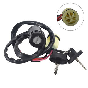 Ignition Key Switch for Honda ATV Rancher TRX420 TRX350 FOREMAN 450 Waterproof