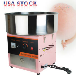 Cotton Candy Maker Machine Floss Commercial Carnival Party Fluffy Sugar Us Stock