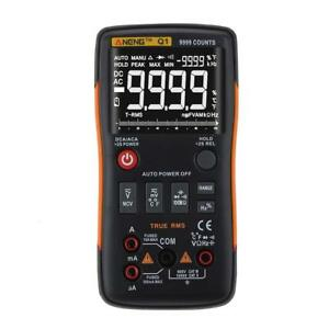 Aneng True rms Digital Multimeter 9999 Counts Ac dc Current Ohm Ammeter Tester