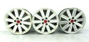 07 09 Mazdaspeed Mazda 3 Speed White Red 18 Inch 18x7 Wheel Rim Rims Center Cap