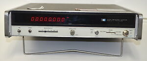 Hp 5340a Microwave Frequency Counter 10 Hz To 18 Ghz used Includes Option 11