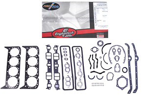 Full Engine Gasket Set For 1970 1980 Chevrolet Sbc 400 6 6l V8 Car Truck