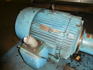 Reliance 100hp 1780rpm Electric Motor 405tc