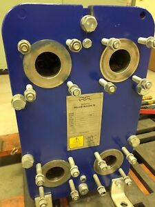 Heat Exchanger Flat Plate Alfa Lava Stainless New