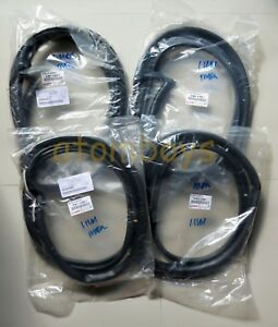 Toyota Corolla Ae102 Ae100 Ae101 Ee100 Ee101 Door Sedan Seal Rubber Weatherstrip