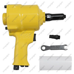 Air Riveter Pneumatic Pistol Type Pop Rivet Gun Air Power Operated 30702a