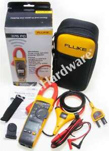 New Fluke 376fc True rms Ac dc Clamp Meter With Iflex 376 Fc