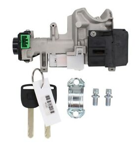Ignition Switch Cylinder Lock Auto Trans 2 Keys For 03 07 Honda Accord Civic