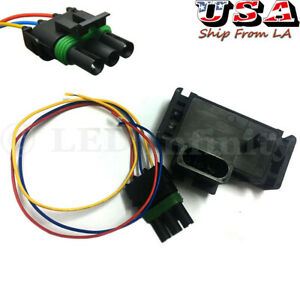 New Gm Style 3 Bar Map Sensor For Electromotive Motec Megasquirt With Plug
