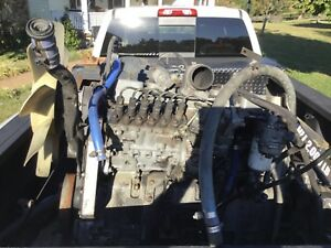 Complete 5 9 Cummins 12 Valve P Pump Engine Hot Rod Rat Rod Project 6bt