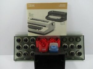 Lot Of 15 Ibm Selectric Typewriter Ball Head Font 10 12 Ibm Orator Script