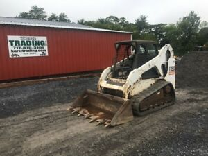 2009 Bobcat T190 Tracked Skid Steer Loader