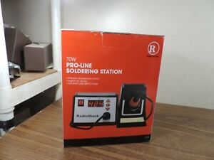 Digital Radio Shack 70 Watt Pro line Soldering Station Solder Iron Pro