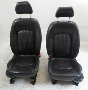 02 08 Jaguar X Type Front Driver Left Pass Right Seat Pair Oem 8 Way Adjustable