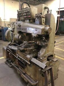 Barber Colman 14 15 Gear Hobber Serial 1248