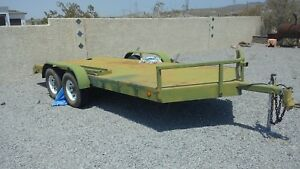 Flatbed Trailer Homebuilt