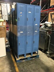 Lion Six Door Employee Locker