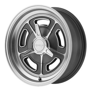 4 New 15x8 American Racing Vn502 Mag Gray Wheel Rim 5x120 65 15 8 5 120 65 Et 6