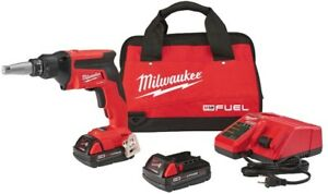 Milwaukee Drywall Screw Gun Kit 18 volt Lithium ion Brushless Cordless Compact