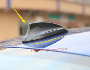 Real Carbon Fiber Roof Shark Fin Antenna Cover Trim For Bmw 1 Series 2017 2018