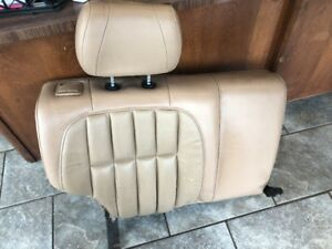 1999 2004 Jeep Grand Cherokee Upper Right Rear Leather Seat Khaki