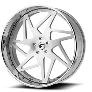 20 Inch Forgiato Finestro Wheels Rims Mercedes S550 S63 Class Amg Bmw Brushed