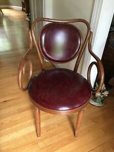 Vintage Empire State Bentwood Arm Chair