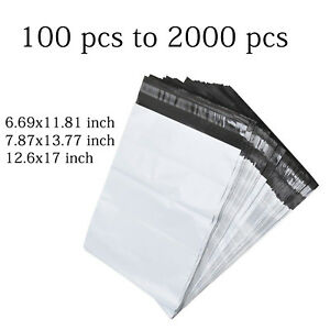 Poly Plastic Mailing Envelopes Shipping Packing Sealing Bags