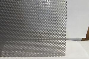 11 Gauge 1 8 Holes 304 Stainless Steel Perforated Sheet 6 X 6