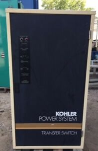 Kohler 400 Amp 480v 60hz 3 Phase Automatic Transfer Switch ats S n k40600
